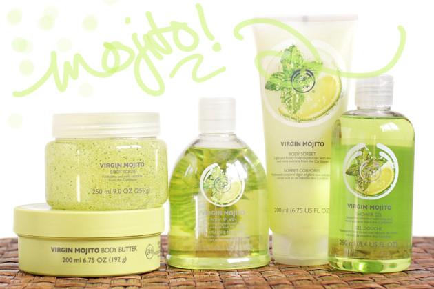 The Body Shop Virgin Mojito collection review