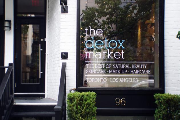 The Detox Market Toronto review tour about Scollard St