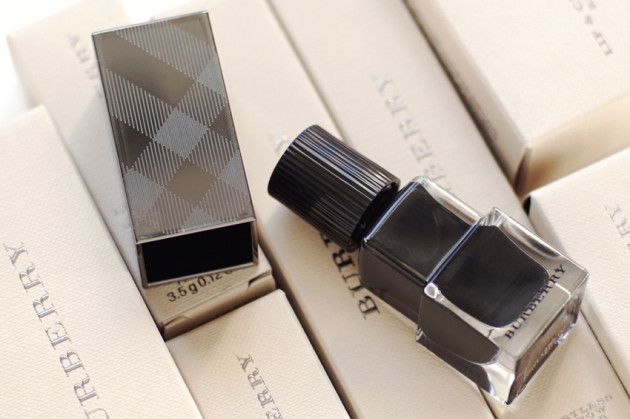 Burberry Poppy Black nail polish review