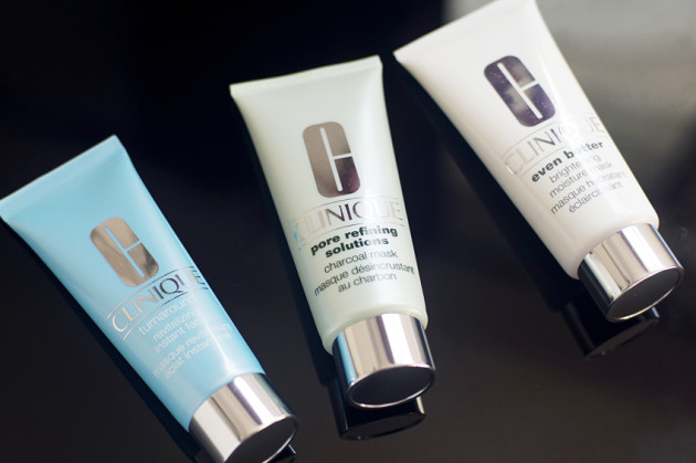 Clinique Even Better mask, Pore Refining charcoal mask