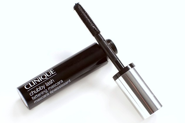 Clinique Massive Midnight Chubby Lash Fattening Mascara swatches review