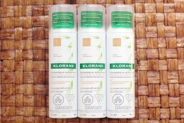 Klorane Dry Shampoo Oat Milk review holy grail rebuy