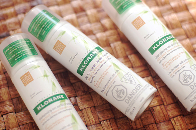 Klorane dry shampoo HG stocking up