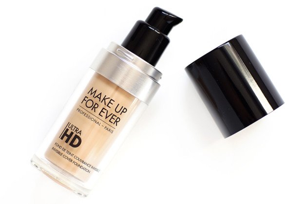 Make Up For Ever Ultra HD foundation 117 y225 review photos