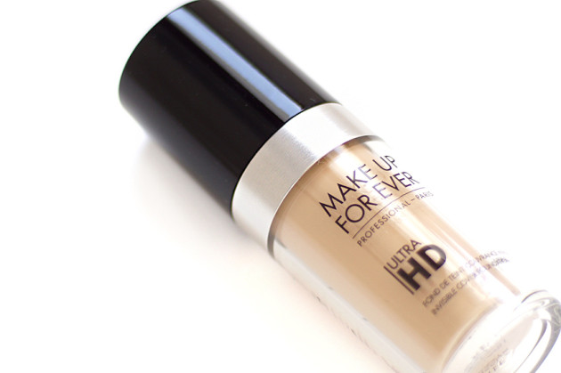 Make Up For Ever Ultra HD foundation packaging