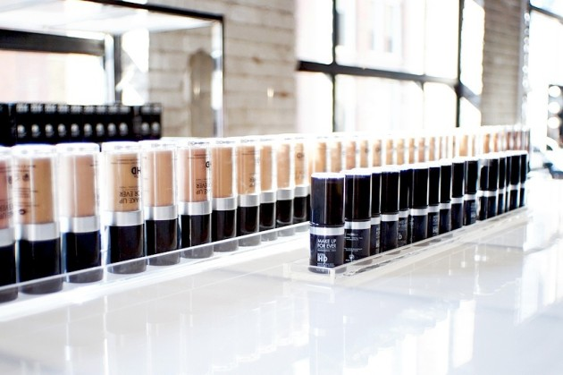 Make Up For Ever Ultra HD liquid stick foundation range shades