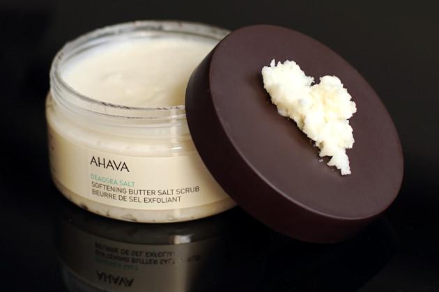 AHAVA Deadsea Salt Softening Butter Salt Scrub review