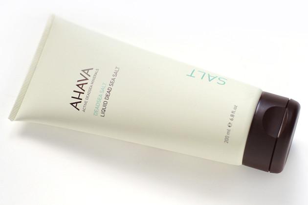 AHAVA Liquid Dead Sea Salt review