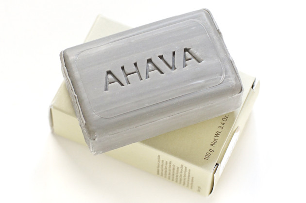 AHAVA dead sea mud purifying soap review