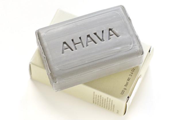 AHAVA dead sea mud purifying soap review