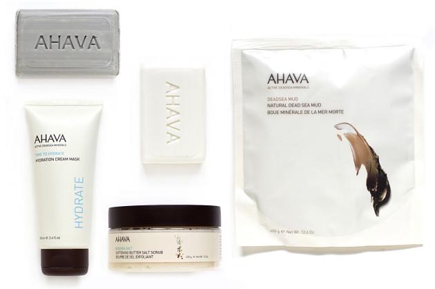 AHAVA salt mud skincare giveaway