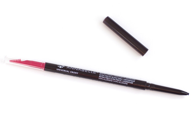 Annabelle Skinny Brow Liner review swatches
