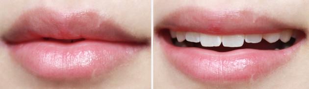 Fresh Sugar Rose lip gloss swatch review