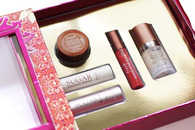Fresh Sugar rose, advanced lip therapy, scrub review