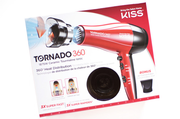 KISS products tornado 360 ceramic tourmaline ionic dryer