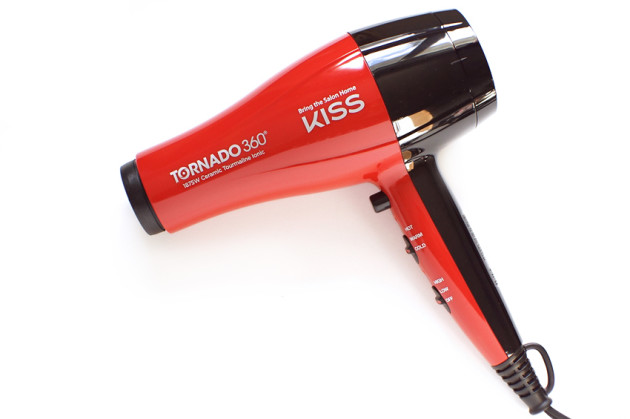 KISS tornado 360 ceramic blow dryer review