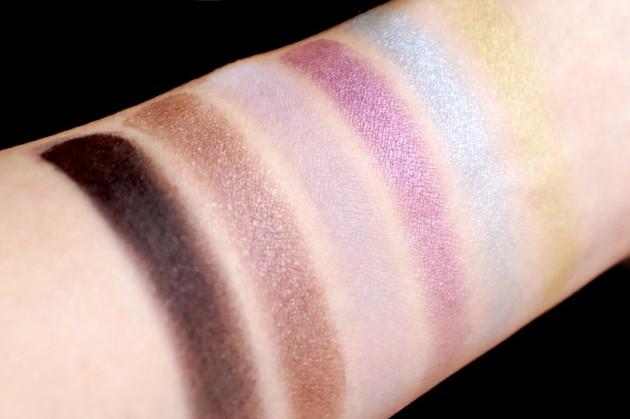 Shu Uemura Cool x Chic eyeshadow palette swatches review