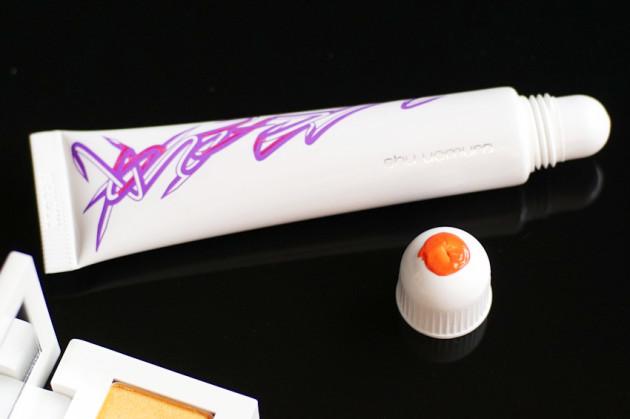 Shu Uemura Tint in Gelato Graffiti Orange swatches review