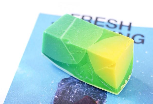 LUSH Baked Alaska soap review