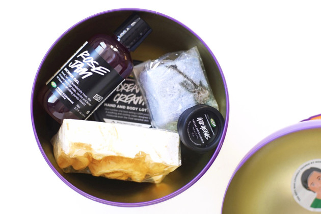 LUSH Winter Garden holiday set review