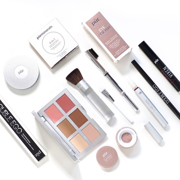 Pur Minerals makeup look products used