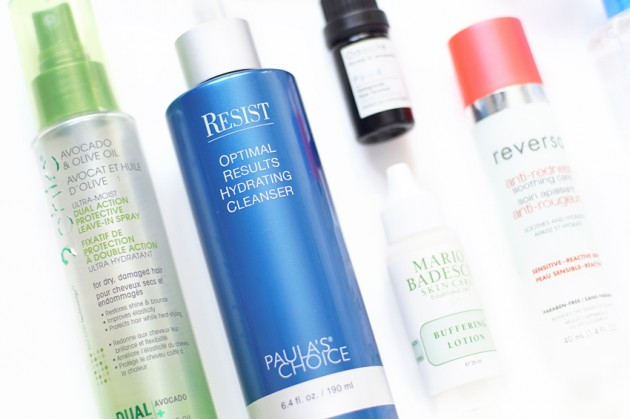 -Skin and haircare favourites