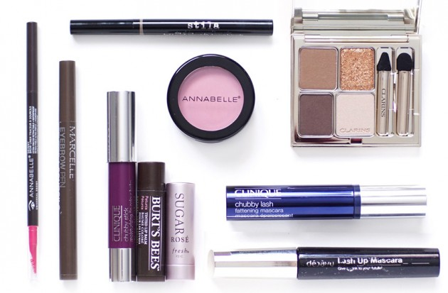 Makeup colour product favourites