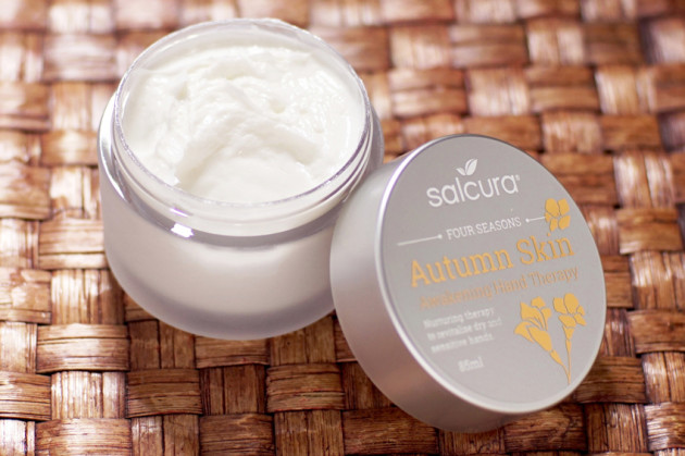 Salcura Autumn Skin therapy review hand cream