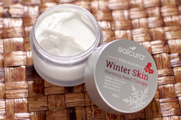 Salcura Winter Skin therapy review hand cream