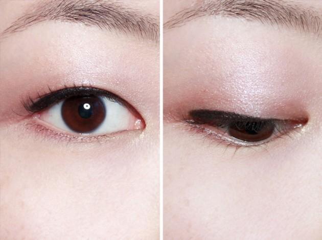 Shu Maison Kitsune Beauty Remix Plum palette EOTD