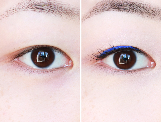 Before after Amaterasu brows
