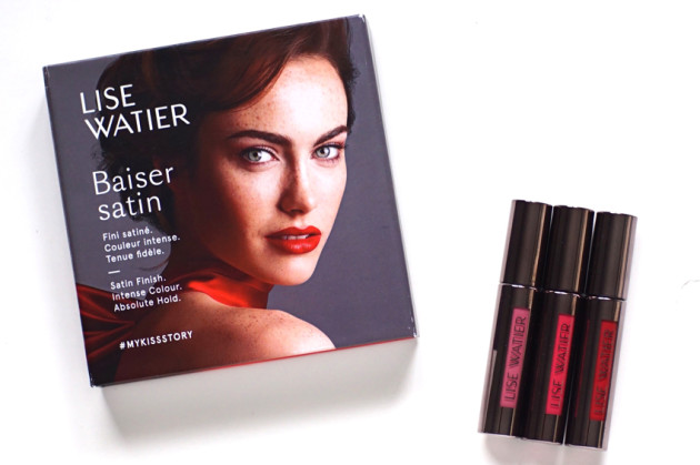 Lise Watier Baiser Satin liquid lipstick review