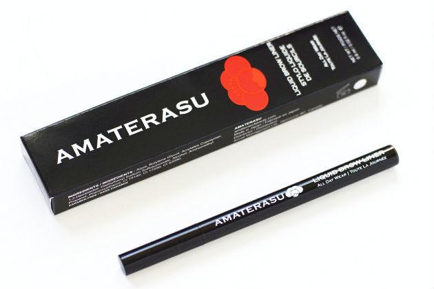 Amaterasu Liquid Brow Liner review Brunette