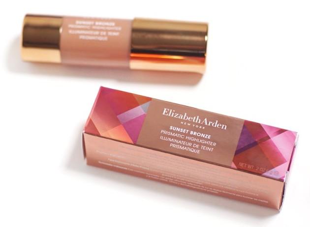 Elizabeth Arden Sunset Bronze Summer 2016 review packaging