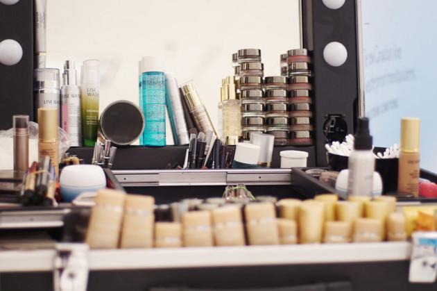 Lise Watier makeup stand