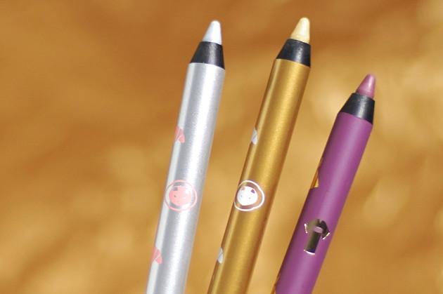 shu uemura play & remix drawing pencil silver gold plum
