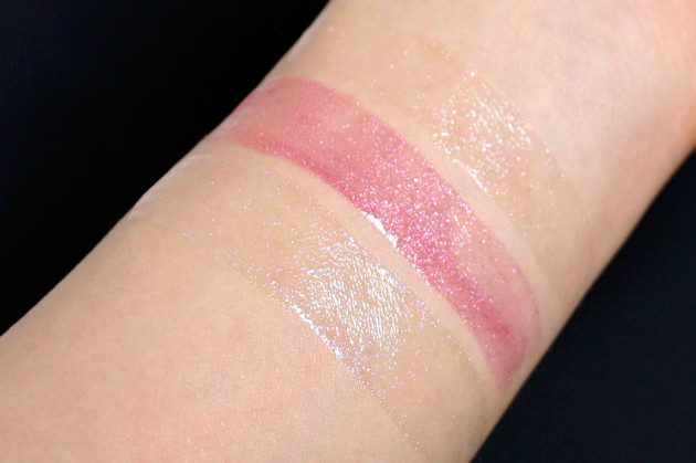 Elizabeth Arden Sunset Bronze Prismatic Lip Gloss swatches review