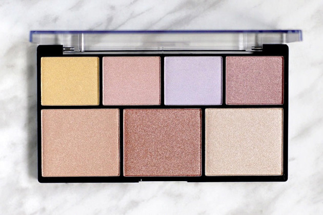 NYX Strobe of Genius illuminating strobing palette review