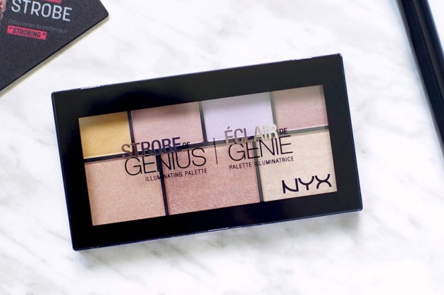 NYX Strobe of Genius palette review