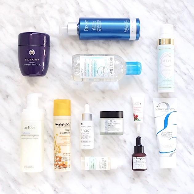Silicone-free dry skin favourites