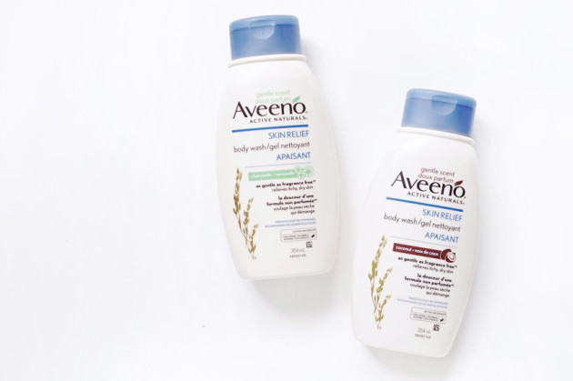 Aveeno Gentle Scent body wash lotion review