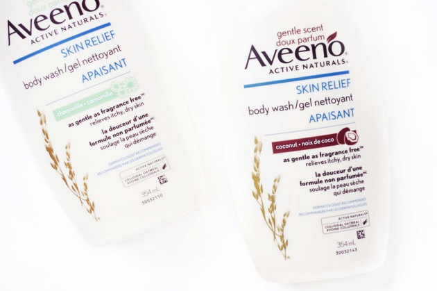Aveeno Skin Relief Gentle Scent coconut review photos