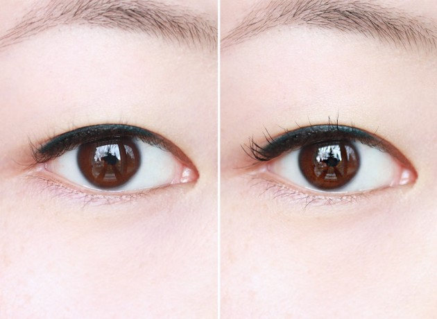 Maybelline Lash Sensational eye swatch photos review