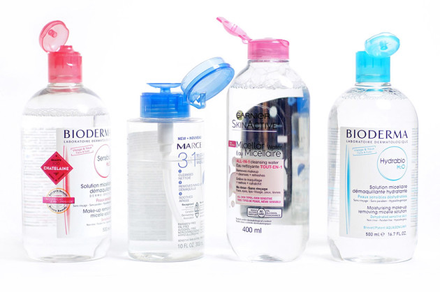 Micellar water review comparison bioderma garnier marcelle