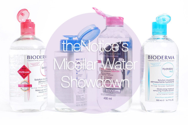 Micellar water review comparison bioderma garnier marcelle bubble