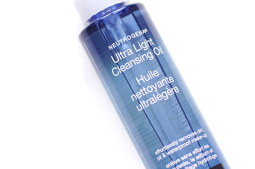 bec92995d37 theNotice - Neutrogena Ultra Light Cleansing Oil review, photos | A ...