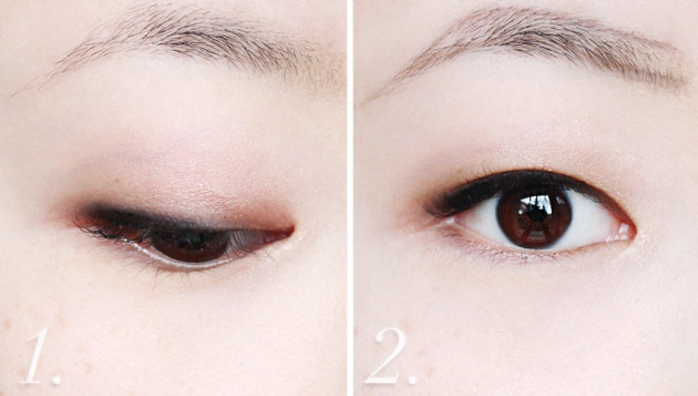 Annabelle Skinny Brow Liner swatches before after tutorial