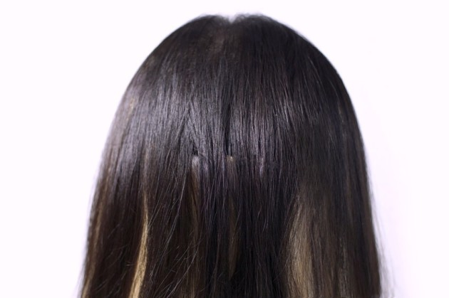 Irresistible Me hair extensions review - base
