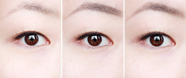 Make Up For Ever Pro Sculpting Brow swatch brown black review