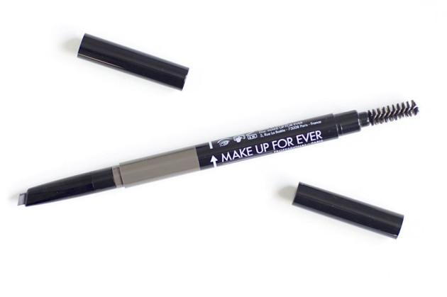 Make up for ever brown black swatch review pro sculpting brow